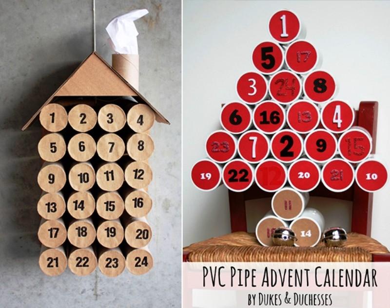 Адвент-календарь своими руками для детей