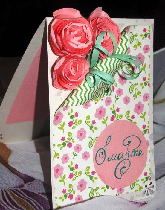Текстильные домиОткрытки на день рождения для мамы